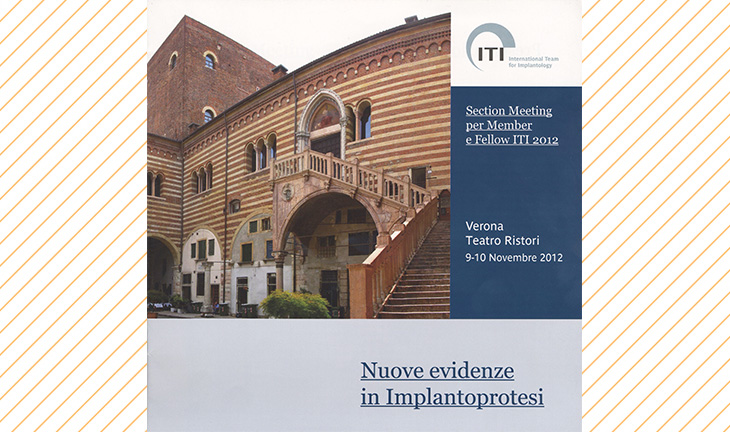 Section Meeting per Member e Fellow ITI 2012: Nuove evidenze in Implantoprotesi